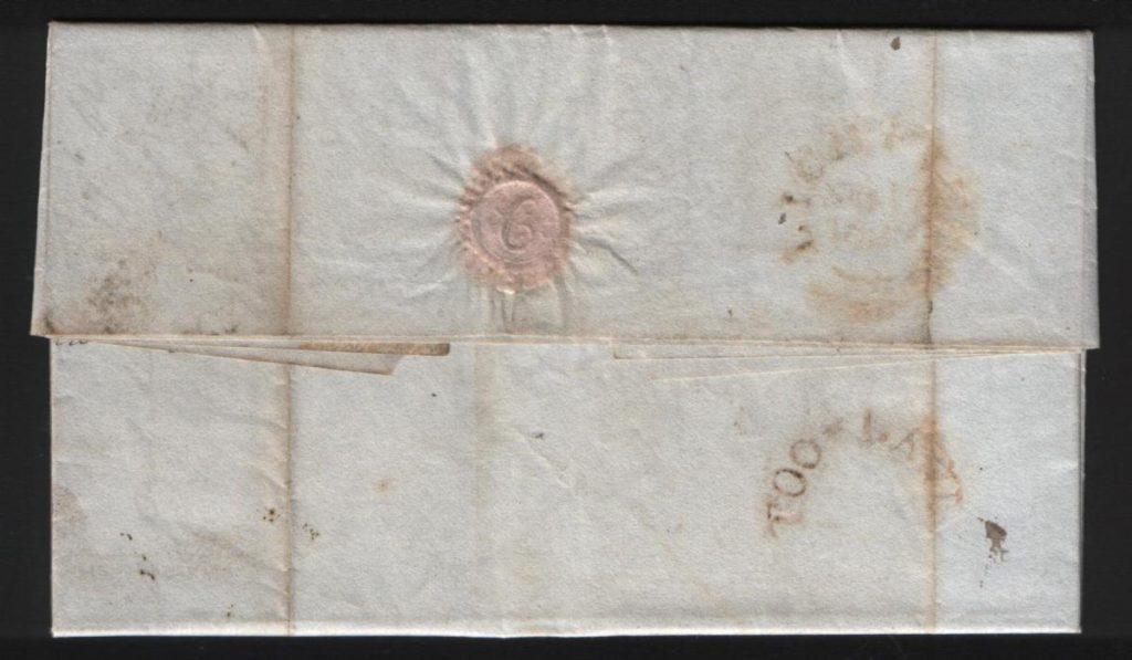 LICHFIELD 1829 'TOO LATE'
