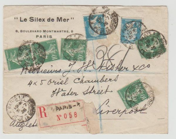 France registered to Liverpool 1926