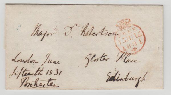 GB Free Frank 1831