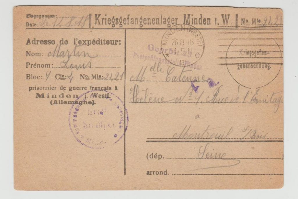 French POW in Germany