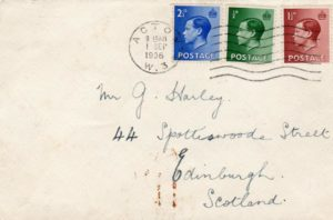 GB-LONDON: 1936 KEVIII FIRST DAY COVER.