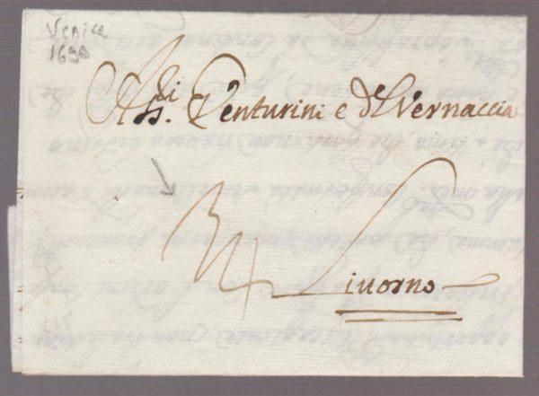 Italy Venturini Correspondence 1690