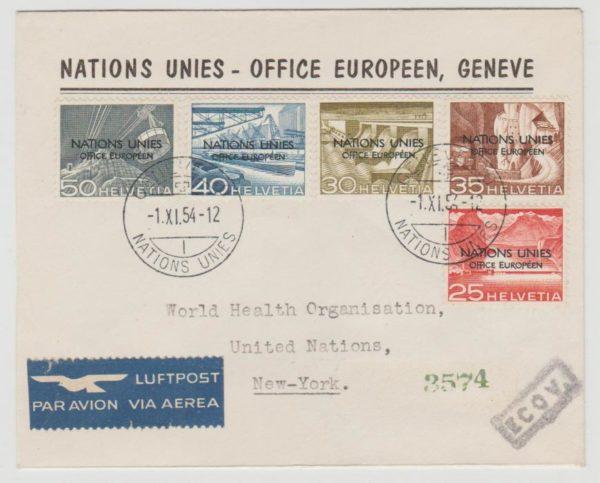 UN Office Geneva 1954