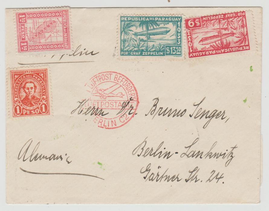 Paraguay Zeppelin 1933