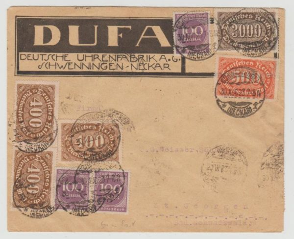 Germany inflation August 1923