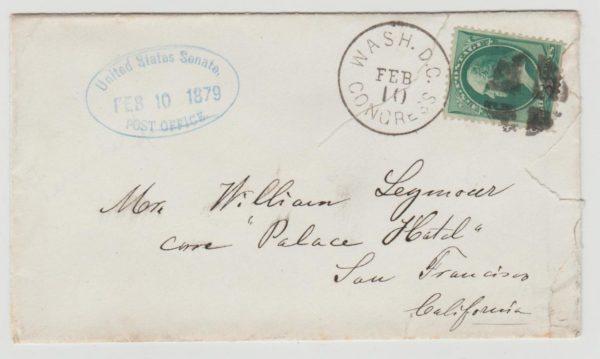 US Senate Post Office 1879