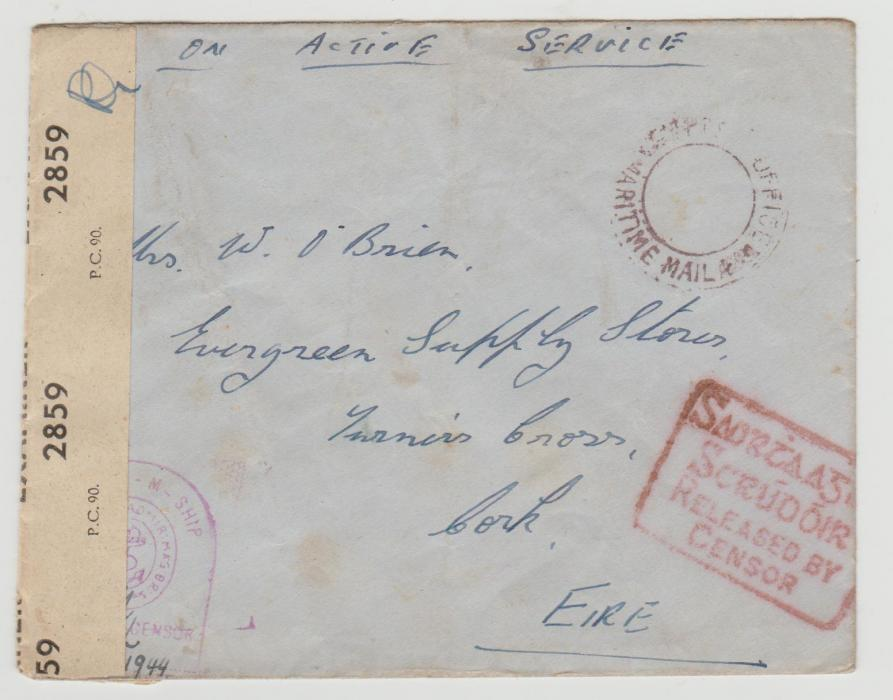 Naval mail 1944
