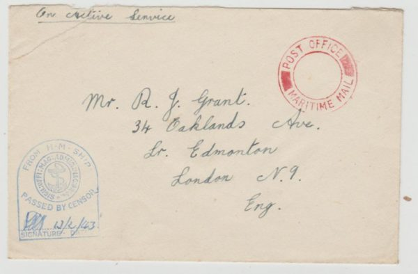 Naval mail