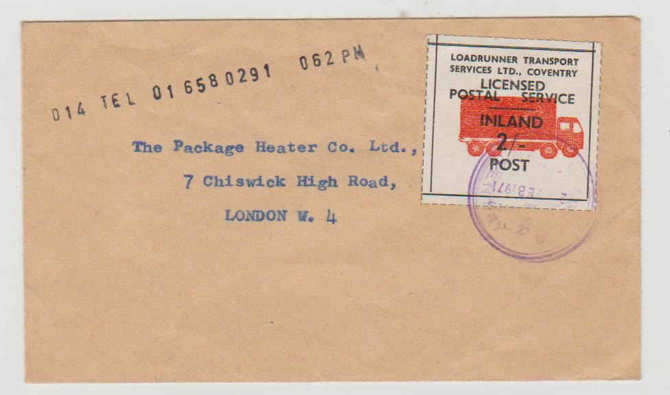 GB postal strike 1971
