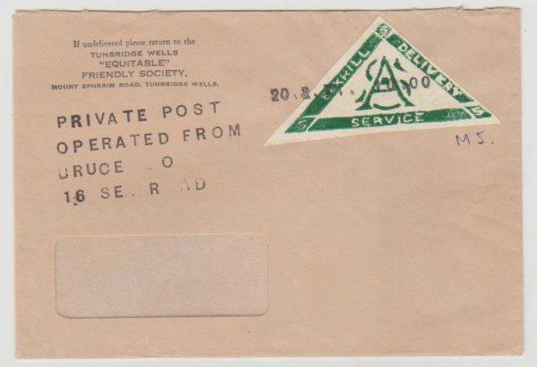 GB Postal Strike 1971 Bexhill