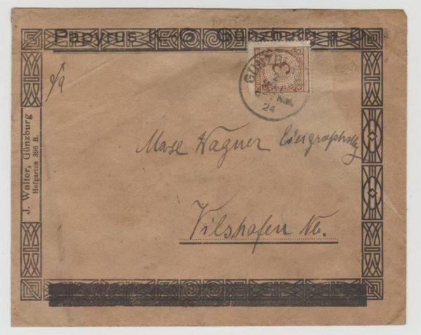 Germany decorative illustrated envelope 1924