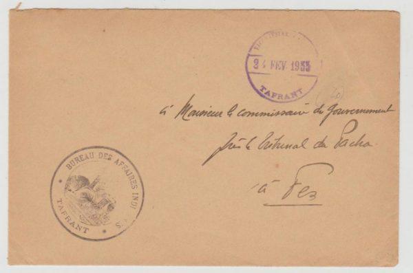 French Morocco Tafrant 1933