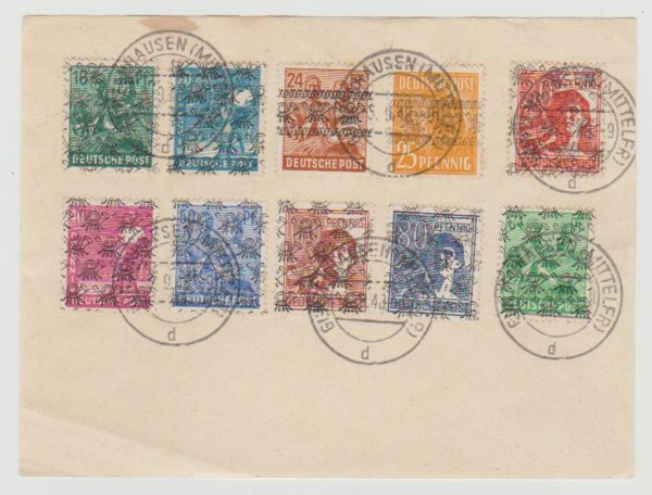 Germany Zonal issue 1948