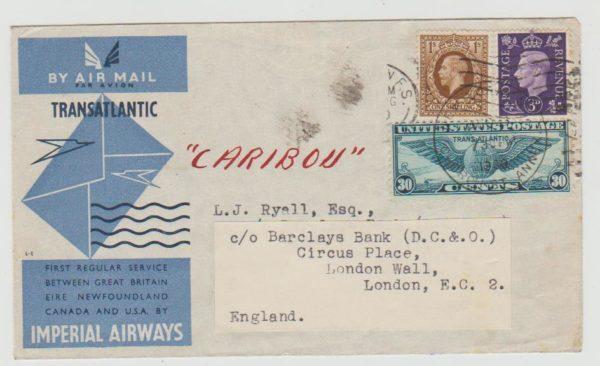 Transatlantic 1st Flight