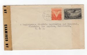 CUBA: 1943 CENSORED COVER TO USA