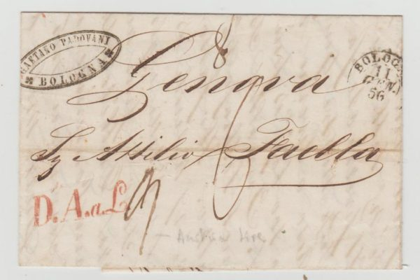 Austrian Italy 1856