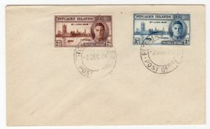PITCAIRN ISLANDS: 1946 FIRST DAY COVER.