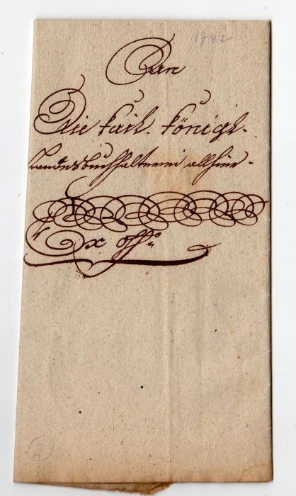AUSTRIA: 1792 ENTIRE DOCUMENT