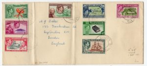 PITCAIRN ISLAND: KGVI COVER TO LONDON.
