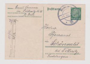 GERMANY / CZECHOSLOVAKIA