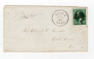 "USA: COVER WITH ""ADVERTISED"" CACHET"