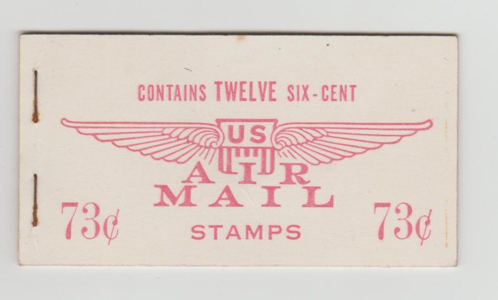 USA BOOKLET OF AIRMAIL STAMPS 1949