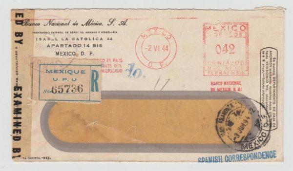 CENSORED 1944