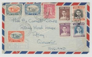 THAILAND BANGKOK TO GLOUCESTER 1949