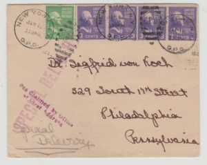 USA SPECIAL DELIVERY ENVELOPE 1941