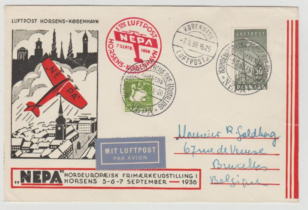 "DENMARK ""NEPA"" PHILATELIC EXHIBITION 1936"
