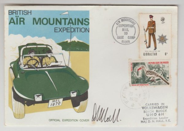 BRITISH AIR MOUNTAINS EXPEDITION 1970