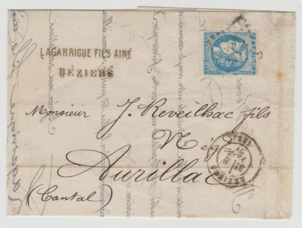 FRANCE 20C BORDEAUX TYPE 3 REPORT 1 FOUR MARGINS