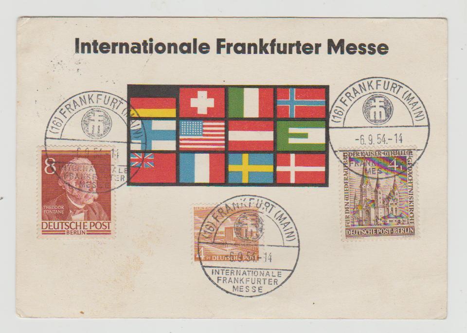 Germany Frankfurt Fair 1954