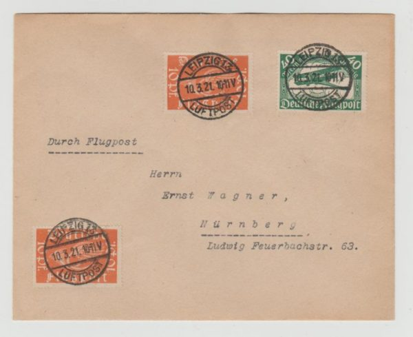 Germany Airmail 1921