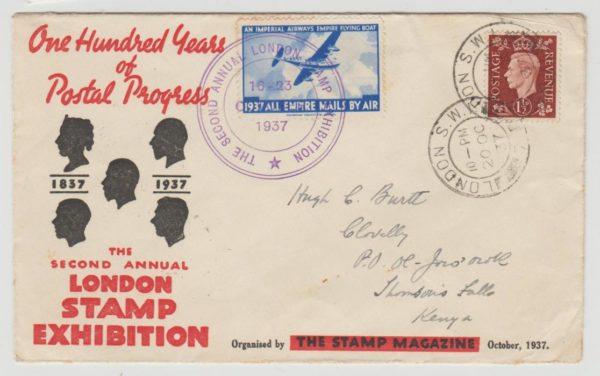 London Stamp Exhibition 1937