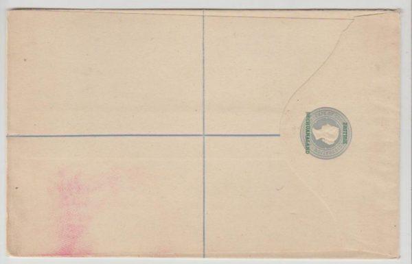 British Bechuanaland registered envelope 1889
