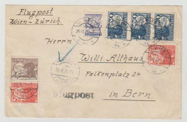 Austrian Airmail 1925