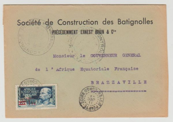 1941 French Equatorial Africa