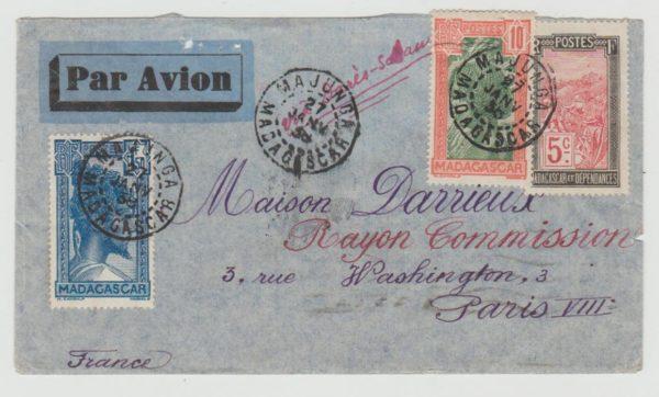 Madagascar to Paris 1938
